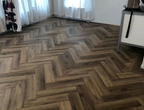 PVC vloer compleet gelegd 0,3mm slijtlaag €39,95 per m2